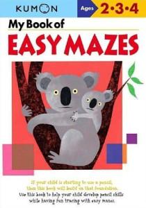 KUMON_2-3-4_years_My_book_of_easy_mazes