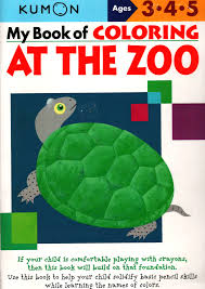 KUMON_3-4-5_years_My Book of Colouring_At the Zoo