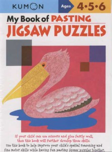 KUMON_4-5-6_years_My_Book_of_Pasting_Jigsaw_Puzzles