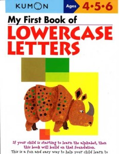 KUMON_4-5-6_years_My_First_Book_of_Lowercase_Letters