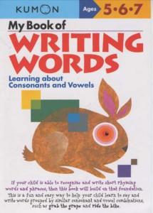 KUMON_5-6-7_ Years_My_Book_of_Writing_words