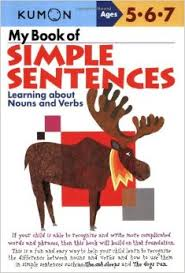 KUMON_5-6-7_years_My book of Simple Sentences