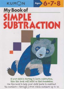 KUMON_6-7-8_years_My_Book_of_Simpl_Subtraction
