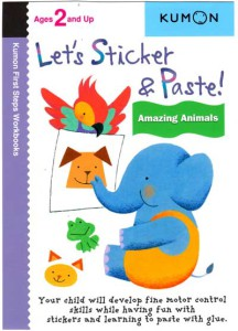 KUMON_2_and_Up_Lets_Sticker_and_Paste_Amazing_Animals