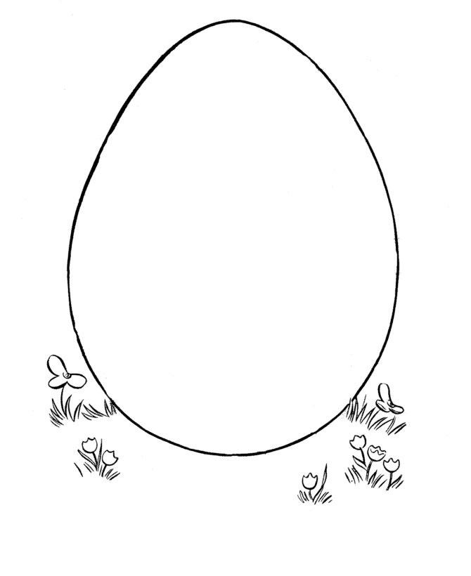 Детские раскраски с яйцами
